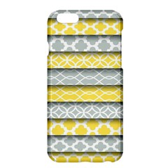 Paper Yellow Grey Digital Apple iPhone 6 Plus/6S Plus Hardshell Case