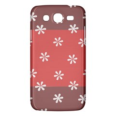 Seed Life Seamless Remix Flower Floral Red White Samsung Galaxy Mega 5.8 I9152 Hardshell Case