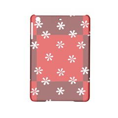 Seed Life Seamless Remix Flower Floral Red White iPad Mini 2 Hardshell Cases