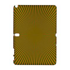 Stripy Starburst Effect Light Orange Green Line Galaxy Note 1