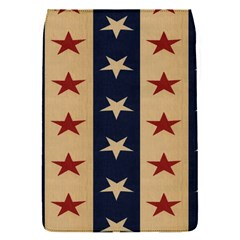 Stars Stripes Grey Blue Flap Covers (S)