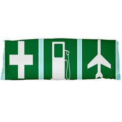 Traffic Signs Hospitals, Airplanes, Petrol Stations Body Pillow Case Dakimakura (Two Sides)
