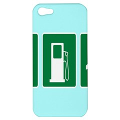 Traffic Signs Hospitals, Airplanes, Petrol Stations Apple iPhone 5 Hardshell Case