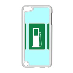 Traffic Signs Hospitals, Airplanes, Petrol Stations Apple iPod Touch 5 Case (White)