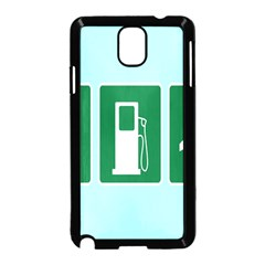 Traffic Signs Hospitals, Airplanes, Petrol Stations Samsung Galaxy Note 3 Neo Hardshell Case (Black)