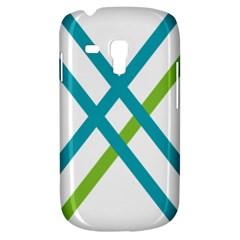 Symbol X Blue Green Sign Galaxy S3 Mini