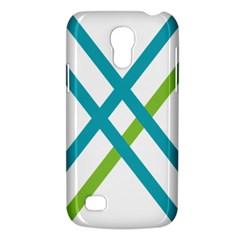 Symbol X Blue Green Sign Galaxy S4 Mini