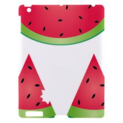 Watermelon Slice Red Green Fruite Apple iPad 3/4 Hardshell Case