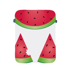 Watermelon Slice Red Green Fruite Apple iPad 2/3/4 Protective Soft Cases