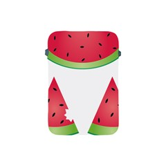 Watermelon Slice Red Green Fruite Apple iPad Mini Protective Soft Cases