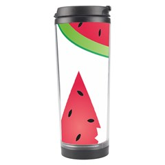 Watermelon Slice Red Green Fruite Travel Tumbler