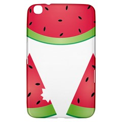 Watermelon Slice Red Green Fruite Samsung Galaxy Tab 3 (8 ) T3100 Hardshell Case