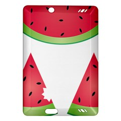 Watermelon Slice Red Green Fruite Amazon Kindle Fire HD (2013) Hardshell Case