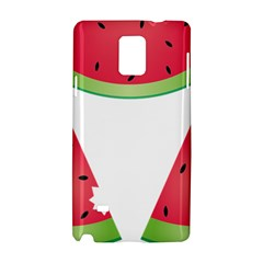 Watermelon Slice Red Green Fruite Samsung Galaxy Note 4 Hardshell Case
