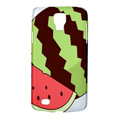 Watermelon Slice Red Green Fruite Circle Galaxy S4 Active