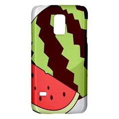 Watermelon Slice Red Green Fruite Circle Galaxy S5 Mini