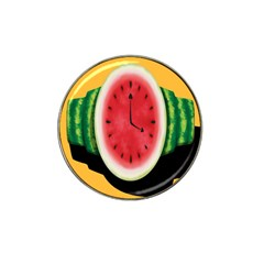 Watermelon Slice Red Orange Green Black Fruite Time Hat Clip Ball Marker