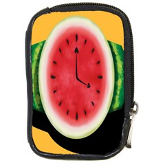 Watermelon Slice Red Orange Green Black Fruite Time Compact Camera Cases
