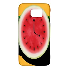 Watermelon Slice Red Orange Green Black Fruite Time Galaxy S6