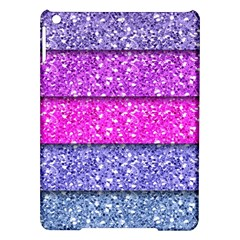 Violet Girly Glitter Pink Blue iPad Air Hardshell Cases