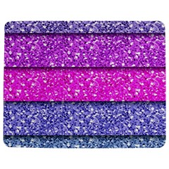 Violet Girly Glitter Pink Blue Jigsaw Puzzle Photo Stand (Rectangular)