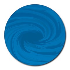 Whirlpool Hole Wave Blue Waves Sea Round Mousepads