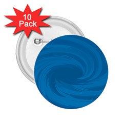 Whirlpool Hole Wave Blue Waves Sea 2.25  Buttons (10 pack)