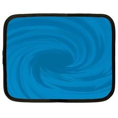 Whirlpool Hole Wave Blue Waves Sea Netbook Case (XXL)