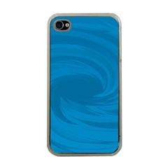 Whirlpool Hole Wave Blue Waves Sea Apple iPhone 4 Case (Clear)