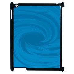 Whirlpool Hole Wave Blue Waves Sea Apple iPad 2 Case (Black)