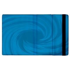 Whirlpool Hole Wave Blue Waves Sea Apple iPad 2 Flip Case
