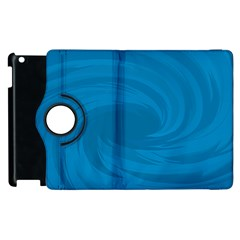 Whirlpool Hole Wave Blue Waves Sea Apple iPad 3/4 Flip 360 Case