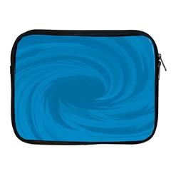 Whirlpool Hole Wave Blue Waves Sea Apple iPad 2/3/4 Zipper Cases
