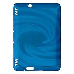 Whirlpool Hole Wave Blue Waves Sea Kindle Fire HDX Hardshell Case