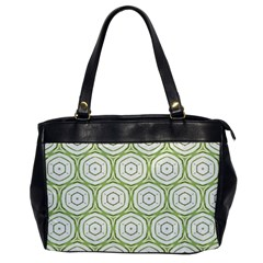 Wood Star Green Circle Office Handbags