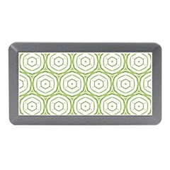 Wood Star Green Circle Memory Card Reader (Mini)