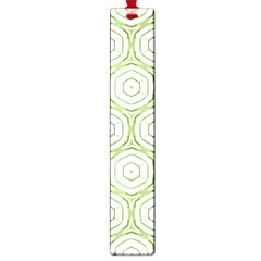 Wood Star Green Circle Large Book Marks