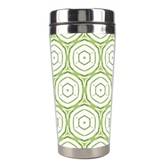 Wood Star Green Circle Stainless Steel Travel Tumblers