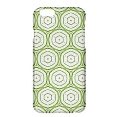 Wood Star Green Circle Apple iPhone 6 Plus/6S Plus Hardshell Case