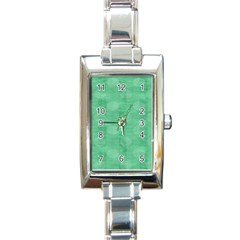 Polka Dot Scrapbook Paper Digital Green Rectangle Italian Charm Watch