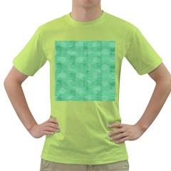 Polka Dot Scrapbook Paper Digital Green Green T-Shirt