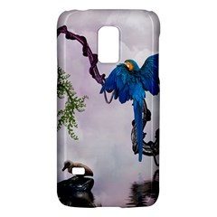 Wonderful Blue Parrot In A Fantasy World Galaxy S5 Mini