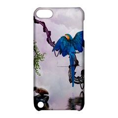 Wonderful Blue Parrot In A Fantasy World Apple iPod Touch 5 Hardshell Case with Stand