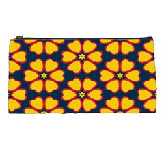 Yellow flowers pattern         	Pencil Case