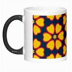 Yellow flowers pattern         Morph Mug