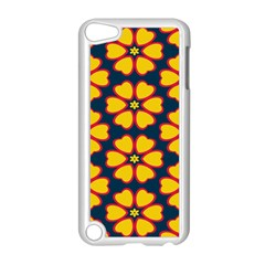 Yellow flowers pattern        Apple iPod Touch 5 Case (White)