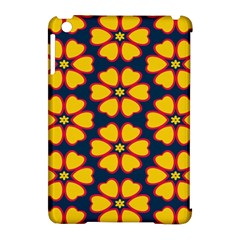 Yellow flowers pattern        			Apple iPad Mini Hardshell Case (Compatible with Smart Cover)