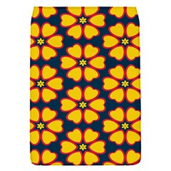 Yellow flowers pattern        Removable Flap Cover (S)