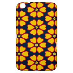 Yellow flowers pattern        			Samsung Galaxy Tab 3 (8 ) T3100 Hardshell Case