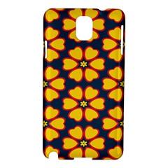 Yellow flowers pattern        Samsung Galaxy Note 3 N9005 Hardshell Case